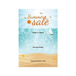Poster Sunny Beach Vertical