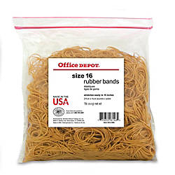 Office Depot Brand Rubber Bands 16