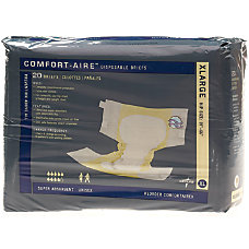 Comfort Aire Disposable Briefs X Large