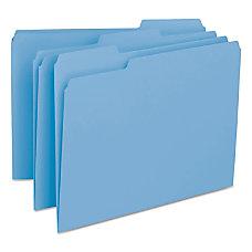 Smead Interior Folders Letter Size Blue