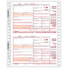 ComplyRight 1099 INT Tax Forms Continuous