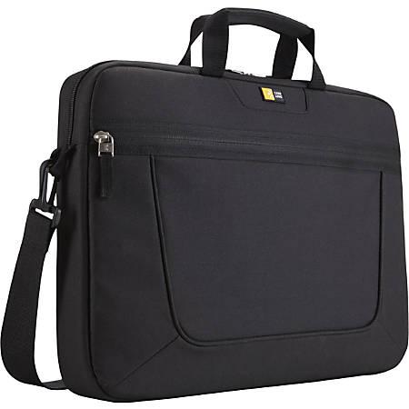 """Case Logic Black 15.6"""" Laptop Attache"""