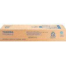 Toshiba Original Toner Cartridge Cyan Laser