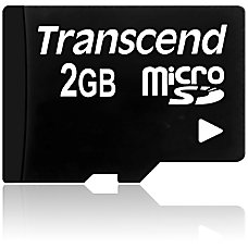 Transcend 2GB microSD Card 2 GB