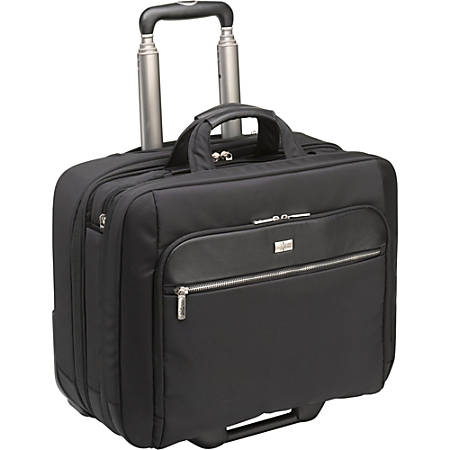 """Case Logic CLRS-117 Carrying Case (Roller) for 17.3"""" Notebook - Black"""