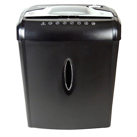 Aurora 7-Sheet Cross-Cut Shredder, AU740XA