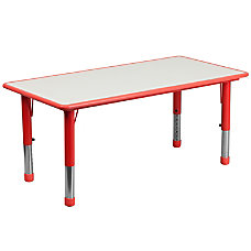 Flash Furniture Height Adjustable Activity Table
