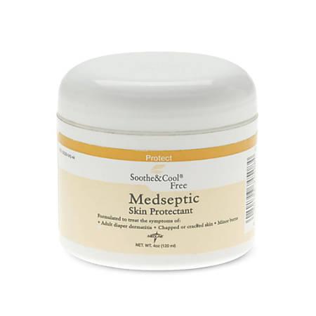 Soothe & Cool Medseptic Skin Protectant Cream, 4 Oz, Case Of 24