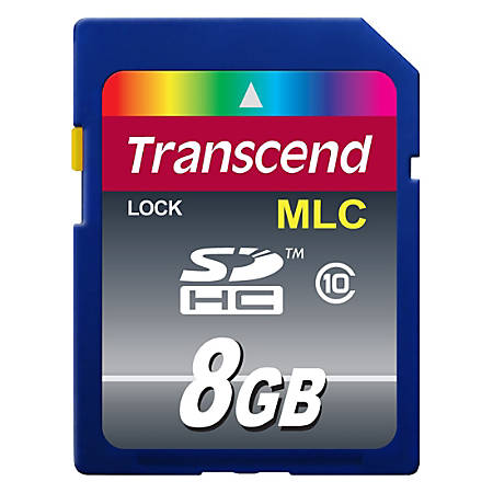 Transcend Industrial 8 GB SDHC