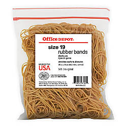Office Depot Brand Rubber Bands 19
