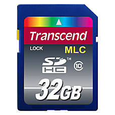 Transcend Industrial 32 GB SDHC