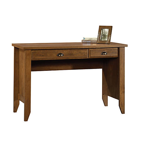 Sauder® Shoal Creek Computer Desk With Flip Down Computer Tray, Oiled Oak