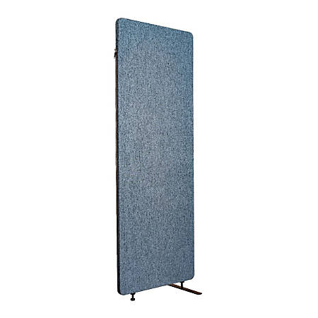 """Luxor RECLAIM Acoustic Privacy Expansion Panel, 66""""H x 24""""W, Pacific Blue"""