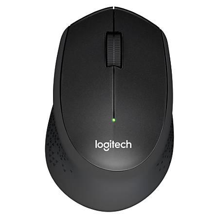 Logitech® M330 Silent Plus Wireless Mouse, Black