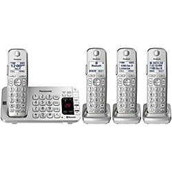 Panasonic Link2Cell KX TGE474S Bluetooth Cordless