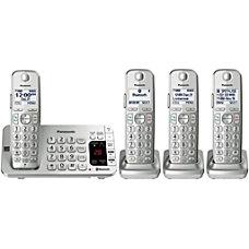 Panasonic Link2Cell KX TGE474S Bluetooth Cordless