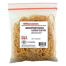 Office Depot Brand Rubber Bands 54