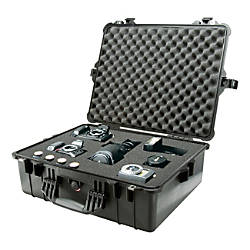 Pelican 1600 Case with Foam Black