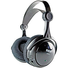 RCA Black Wireless 900MHz Full Size