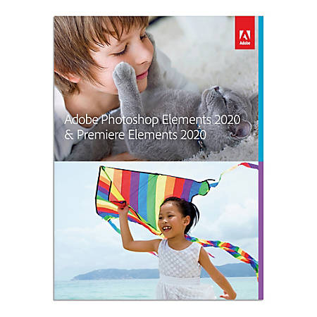 Adobe® Photoshop Elements And Premiere Elements 2020, For PC/Mac, Traditional Disc