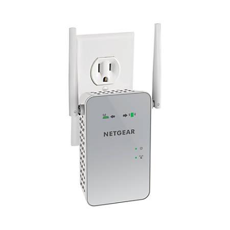Netgear® Wireless AC1200 Dual-Band Wi-Fi Range Extender, EX6150, White Item  # 856658