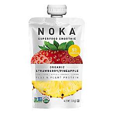 NOKA Single Serve Superfood Smoothies Strawberry