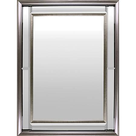 "Lorell Hanging Mirror - 3"" Length - Silver"