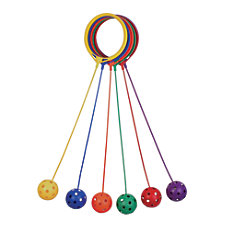 Champion Sports Swing Balls Assorted Colors