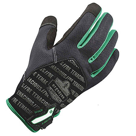 Ergodyne ProFlex 812TX Utility + Touch Gloves, X-Large, Black