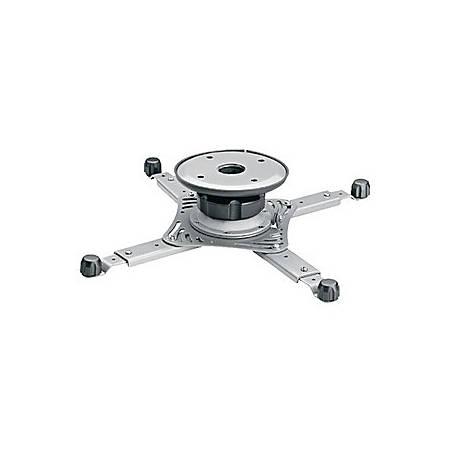 OmniMount WorldMount 3N1-PJT Universal Projector Ceiling Mount - 40 lb - Platinum