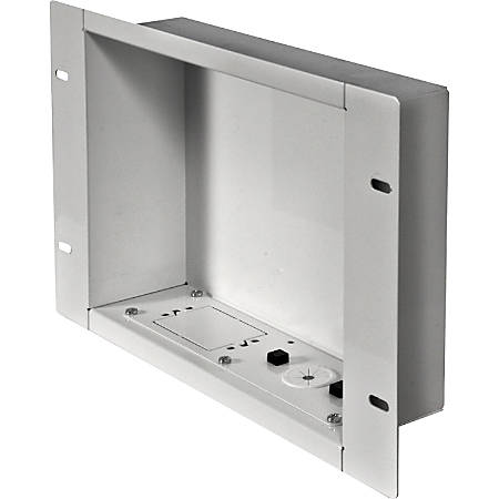 Peerless-AV Recessed Cable Managementand Power Storage Accessory Box - White