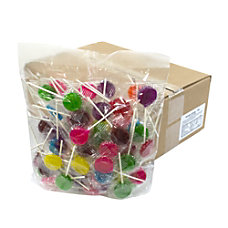 Cyber Sweetz Lollipops 5 Lb Bag