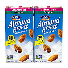 Blue Diamond Almond Breeze Unsweetened Almond