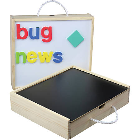 Flipside Magnetic Activity Fun Box - Theme/Subject: Fun - Skill Learning: Letter, Shape