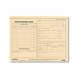 ComplyRight Letter Size Standard Employee Record