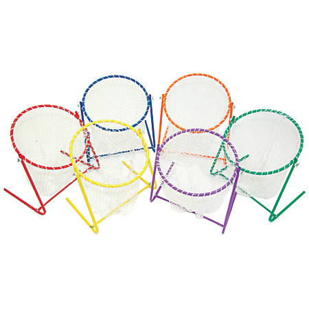 Champion Sports Target Net Set, Assorted Colors, Pack Of 6