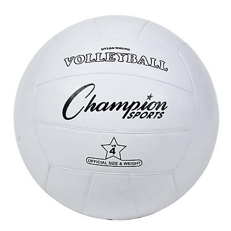 Champion Sports Regulation Volleyball, White