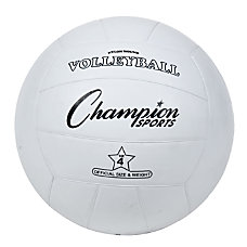 Champion Sports Regulation Volleyball White