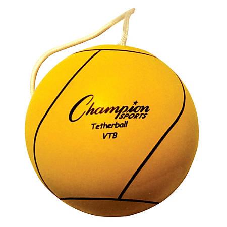 Champion Sports Nylon Tether Ball, Yellow