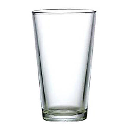 Cardinal Mixing Glasses, 16 Oz, Clear, Pack Of 24 Glasses