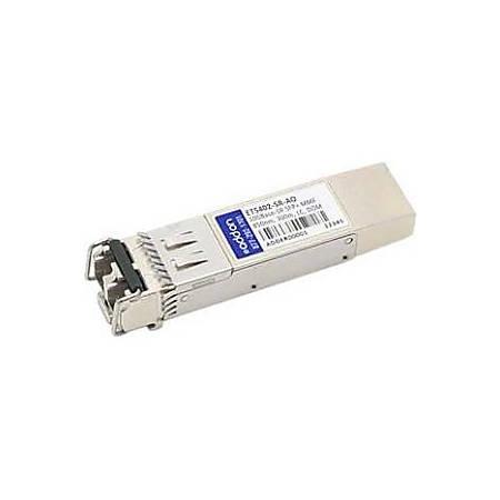 AddOn Edge-corE ET5402-SR Compatible TAA Compliant 10GBase-SR SFP+ Transceiver (MMF, 850nm, 300m, LC, DOM)