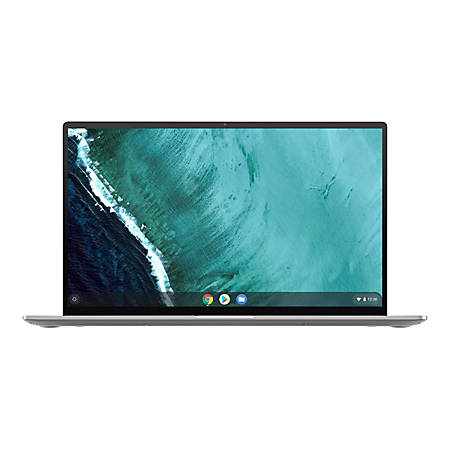 "Asus Chromebook Flip C434TA-DSM4T 14"" Touchscreen 2 in 1 Chromebook - 1920 x 1080 - Core M m3-8100Y - 4 GB RAM - 64 GB Flash Memory - Spangle Silver, Black - Chrome OS - Intel UHD Graphics 615 - Bluetooth - 10 Hour Battery Run Time"
