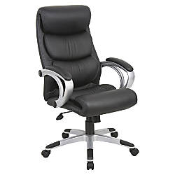 Lorell High Back Bonded Leather Chair