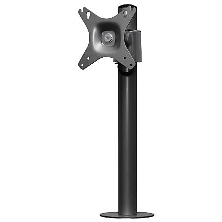 """Kantek Mounting Arm for Monitor - Black - 27"""" Screen Support"""