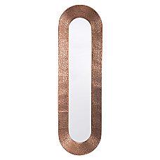 Zuo Modern Skinny Oval Mirror 40