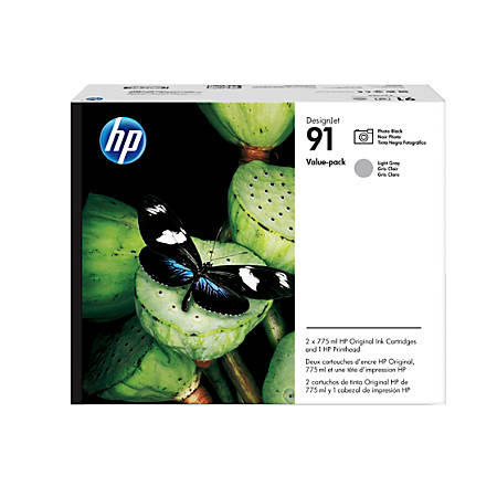 HP 91 Black/Gray Printhead (P2V38A)