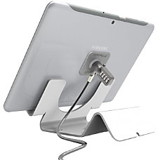 Universal Security Tablet Holder White With
