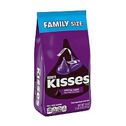 Hersheys Kisses Special Dark Mildly Sweet