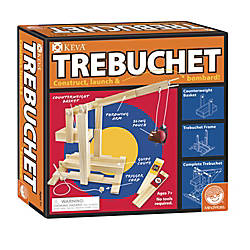 KEVA 86 Piece Trebuchet Set Natural