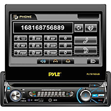 Pyle PLTS78DUB Car DVD Player 7